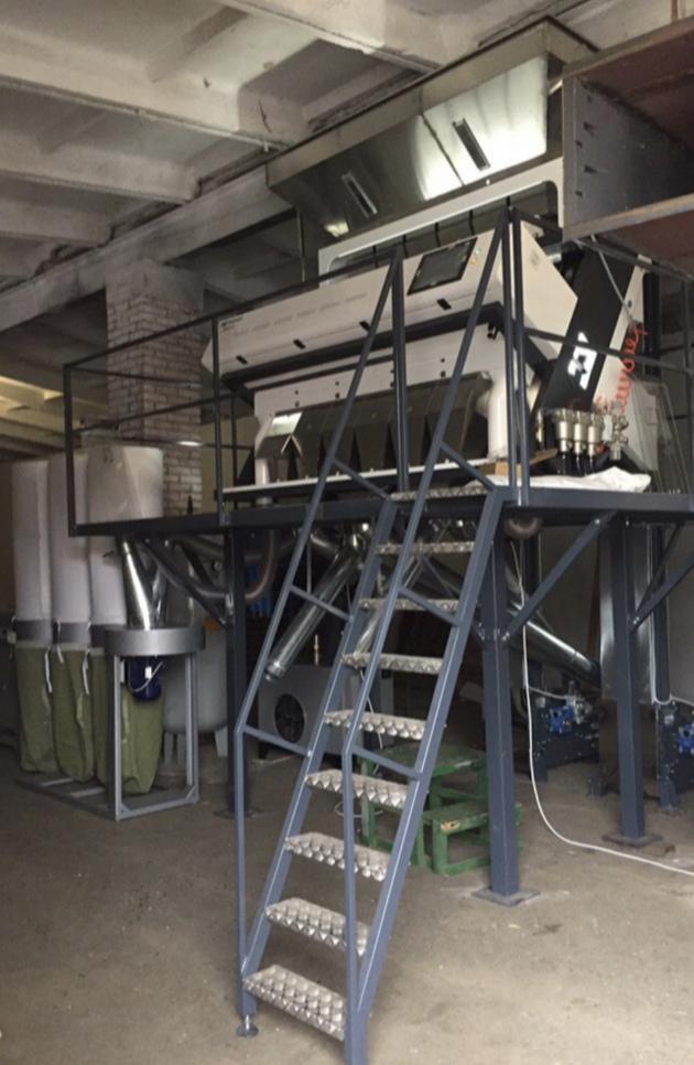 Комплекс по сортировке семечек подсолнечника