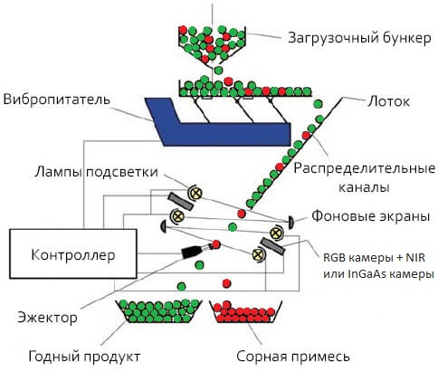 optical sorting process
